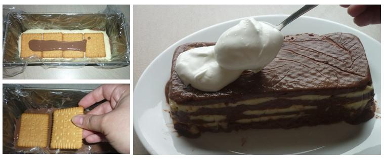 Making of Puddingtorte