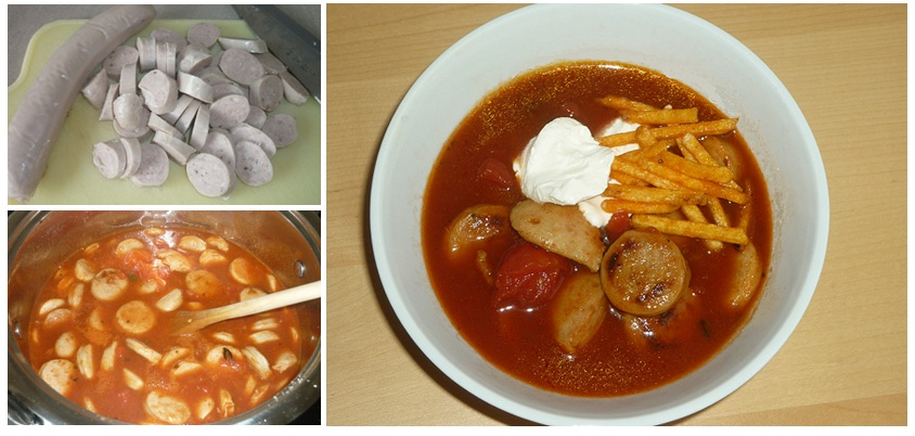 Currywurstsuppe