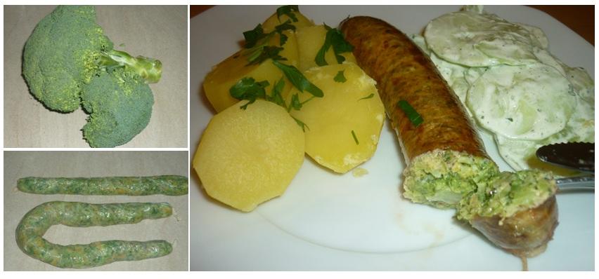 grüne Würstchen3