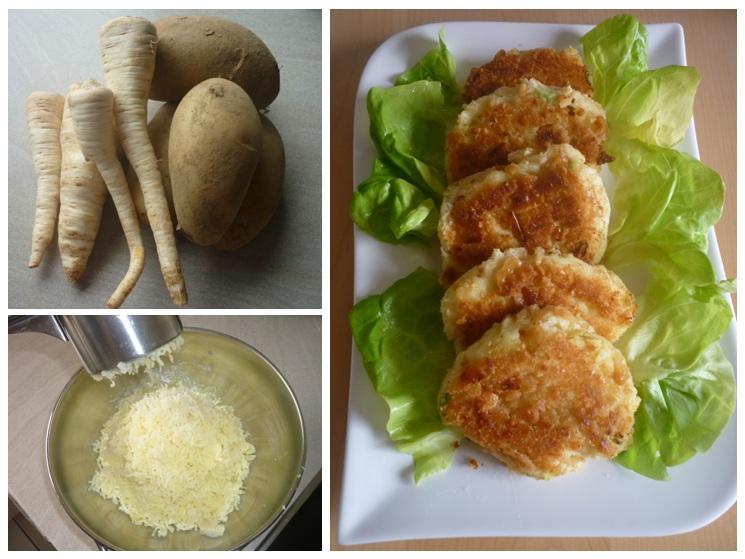 Kartoffel-Petersilienwurzel-Taler