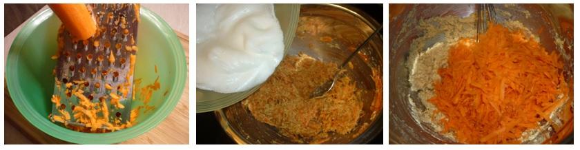 Zubereitung Moehrenkuchen