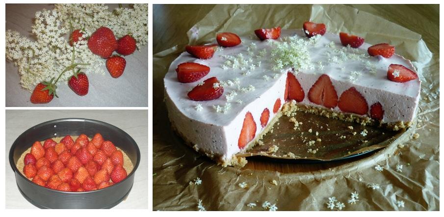 erdbeer-holunder-kuchen