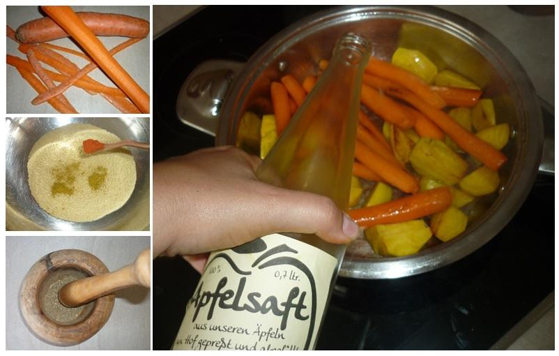 Gemüse und Couscous2
