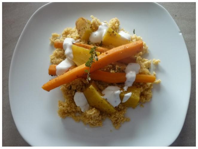 Gemüse und Couscous3