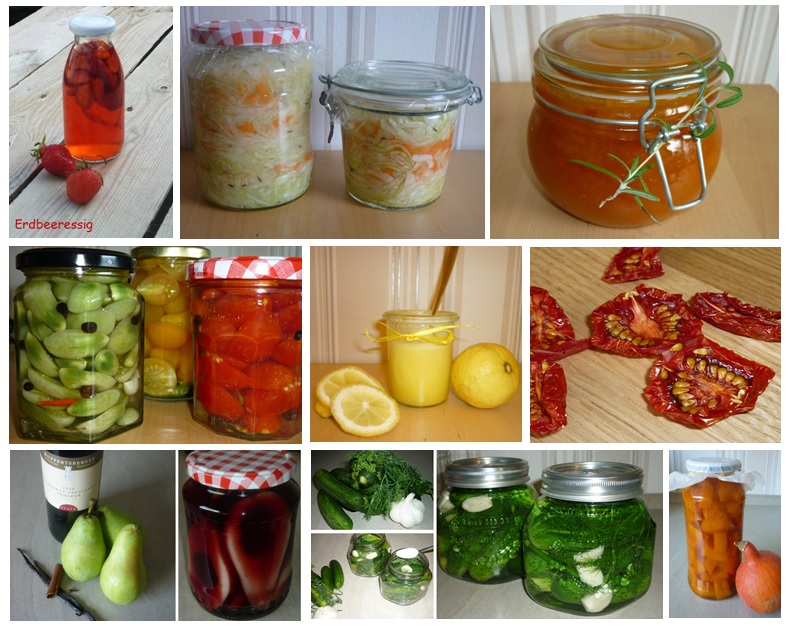 Obst und Gemüse haltbarmachen