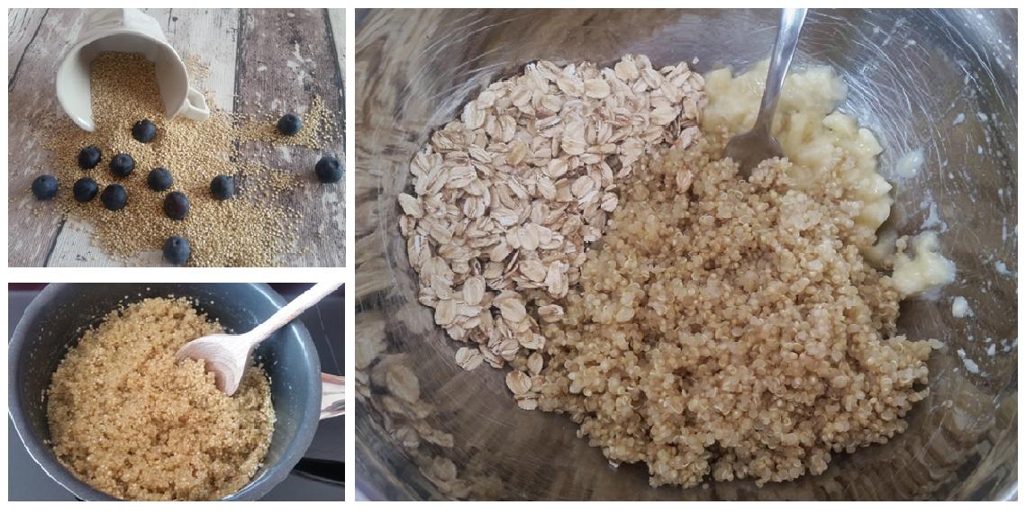 zubereitung quinoa muffins